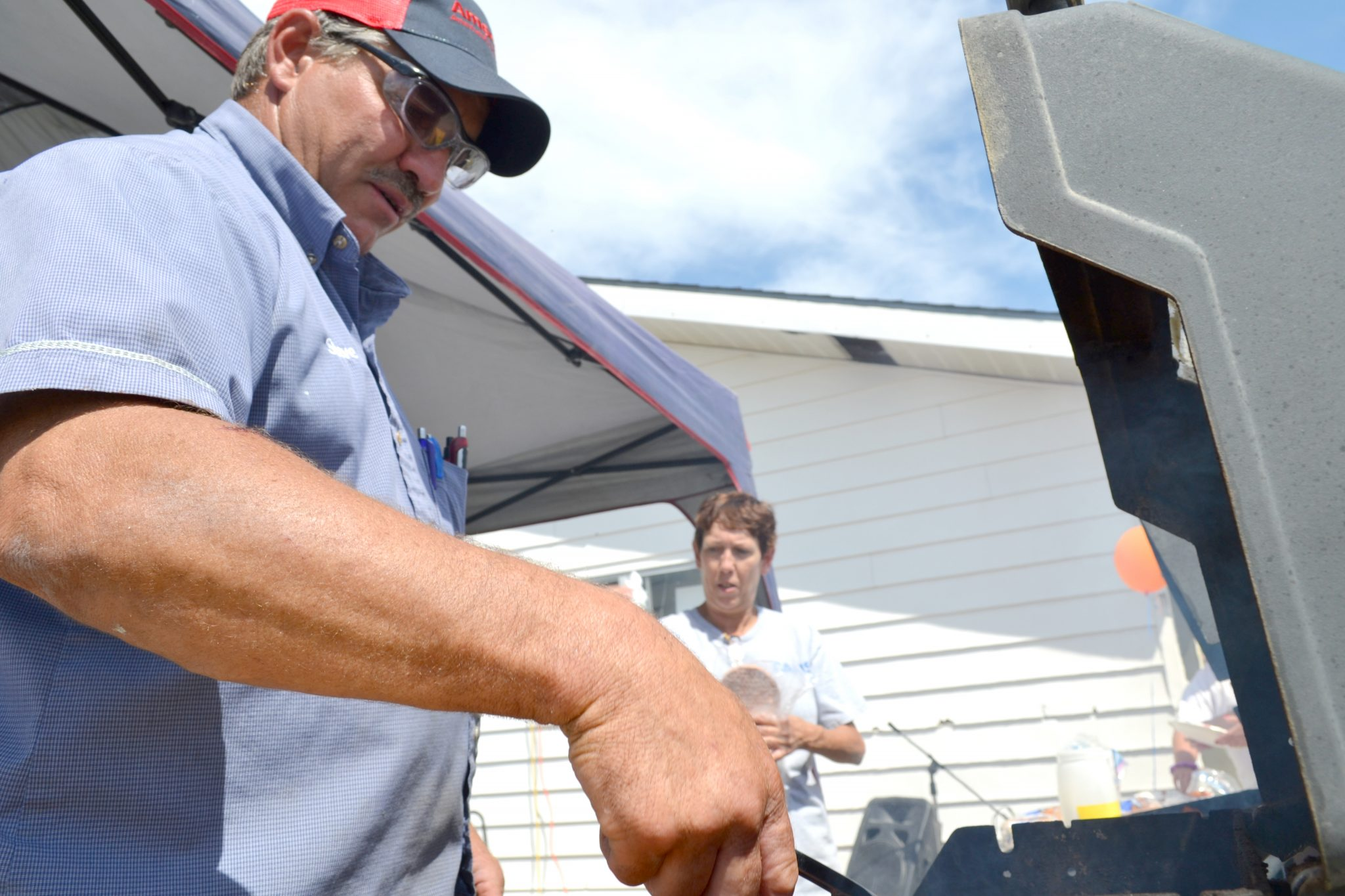 Amerigas thanks customers with community barbecue