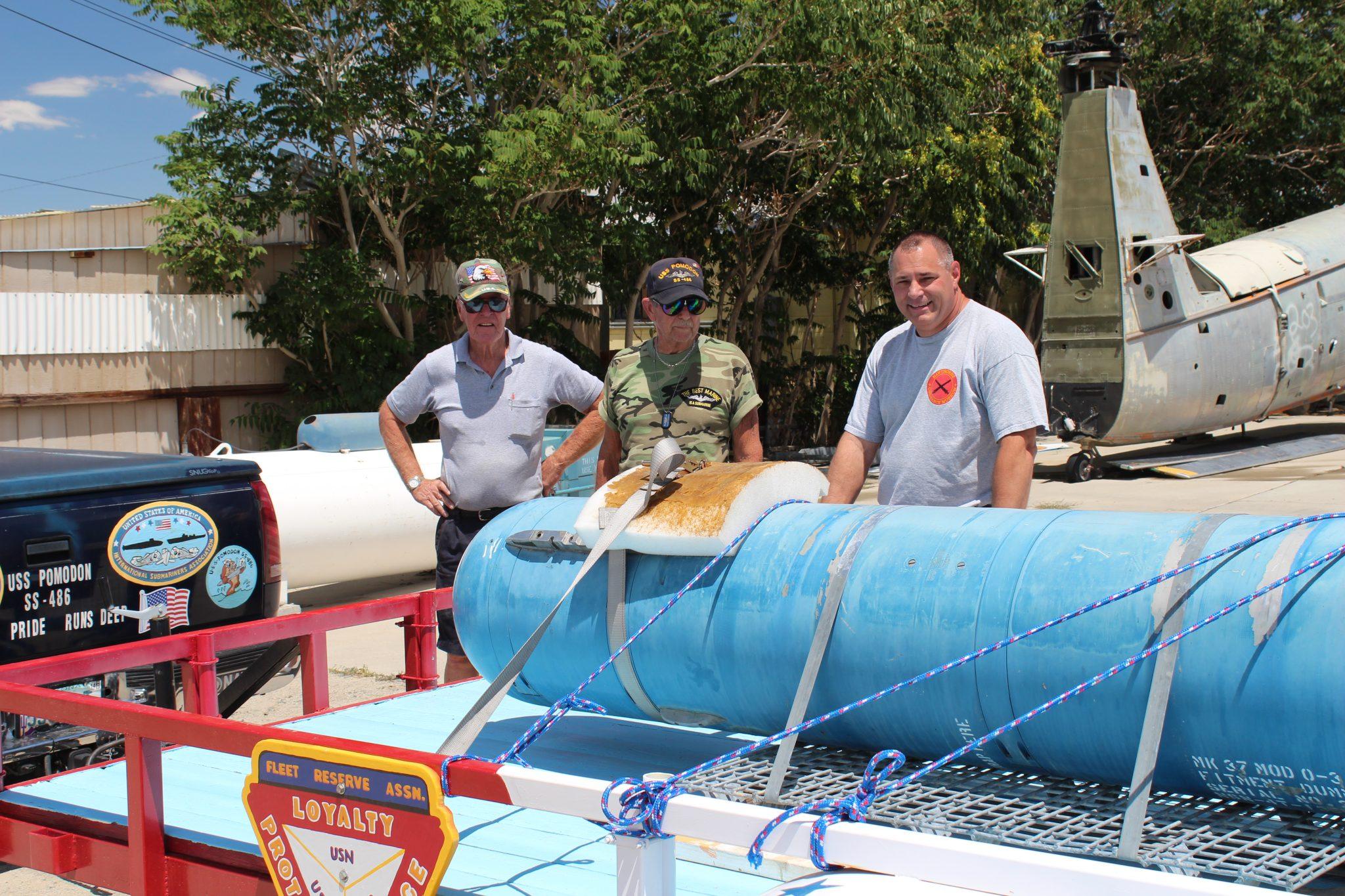 Torpedo donated to Fleet Reserve Association