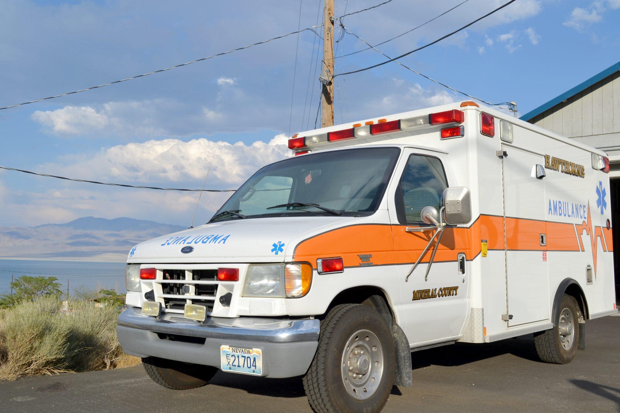 Stolen ambulance recovered at hospital