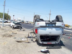 A Hawthorne man was seriously injured when he was struck by an out-of-control car on Aug. 14.