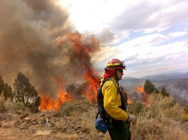 Blaze threatens historic town of Bodie, damages power lines
