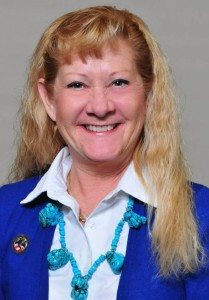 Nevada's president, Mary Stroud of Hawthorne, a member of John Franklin Shain Ladies Auxiliary, No. 2313, led the state delegation