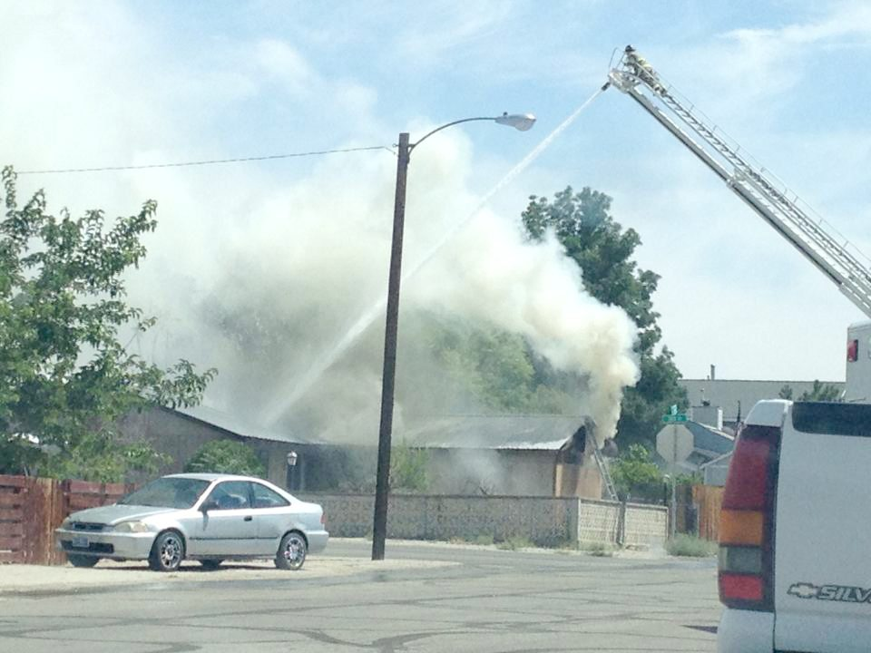 Fire destroys unoccupied house in Hawthorne