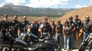 A $1,000 donation was recently given to the Iron Nation Motorcycle Club to support the 12th Annual Never Forget 9/11 Memorial Motorcycle Run