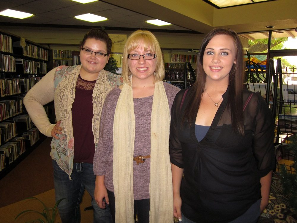 Library gets new faces