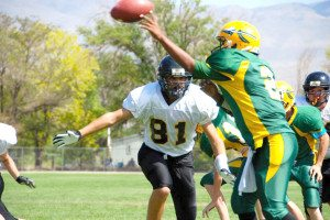 The Mineral County High football team's winning streak continued on Saturday when the team took to the field in Big Pine, Calif. and dominated the Big Pine Warriors, 90-0.