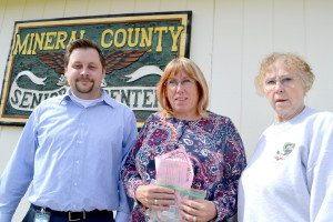 The Mineral County Senior Center in Hawthorne made an unspecified donation of Box Tops for Education vouchers to Hawthorne Elementary School.