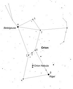 Orion, brightest of the constellations, can be seen from any location on Earth. It is one of the few constellations that looks like what it's supposed to be