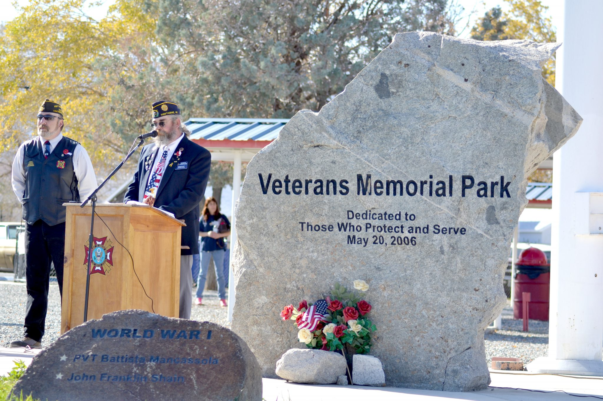 Veterans Day Ceremony: Carrothers talks veteran suicide prevention