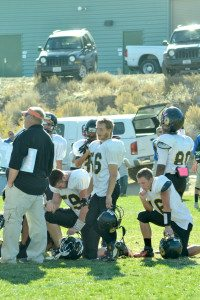 It wasn't until the end of the third quarter that it was apparent the Mineral County High football team's season was going to come to an end in Coleville