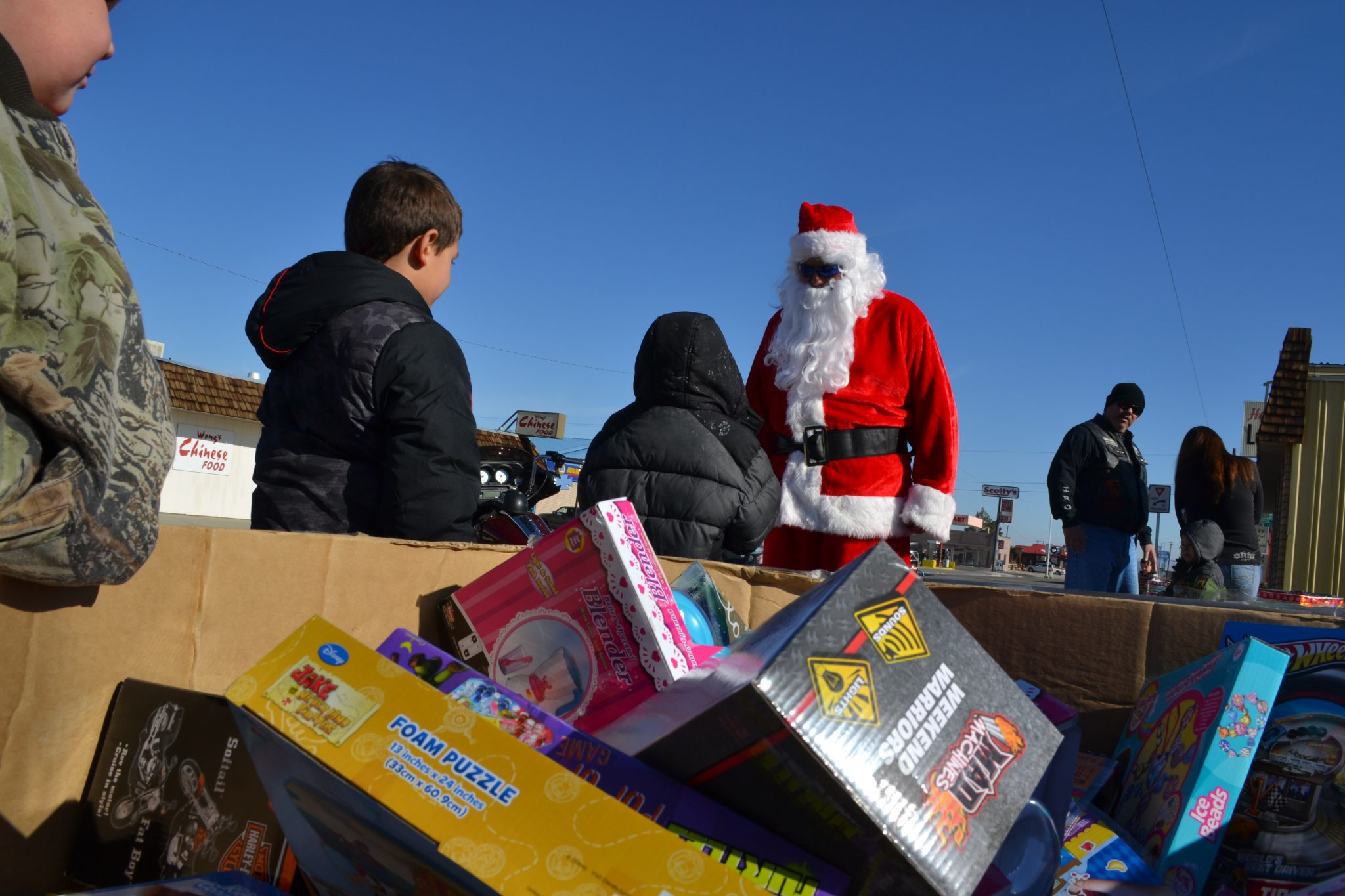 Season of Giving: Iron Nation toy run a success