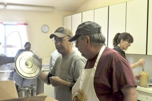 As it has for more than 20 years, the American Legion in Hawthorne hosted Thanksgiving dinner for anyone in the town who wanted to come.