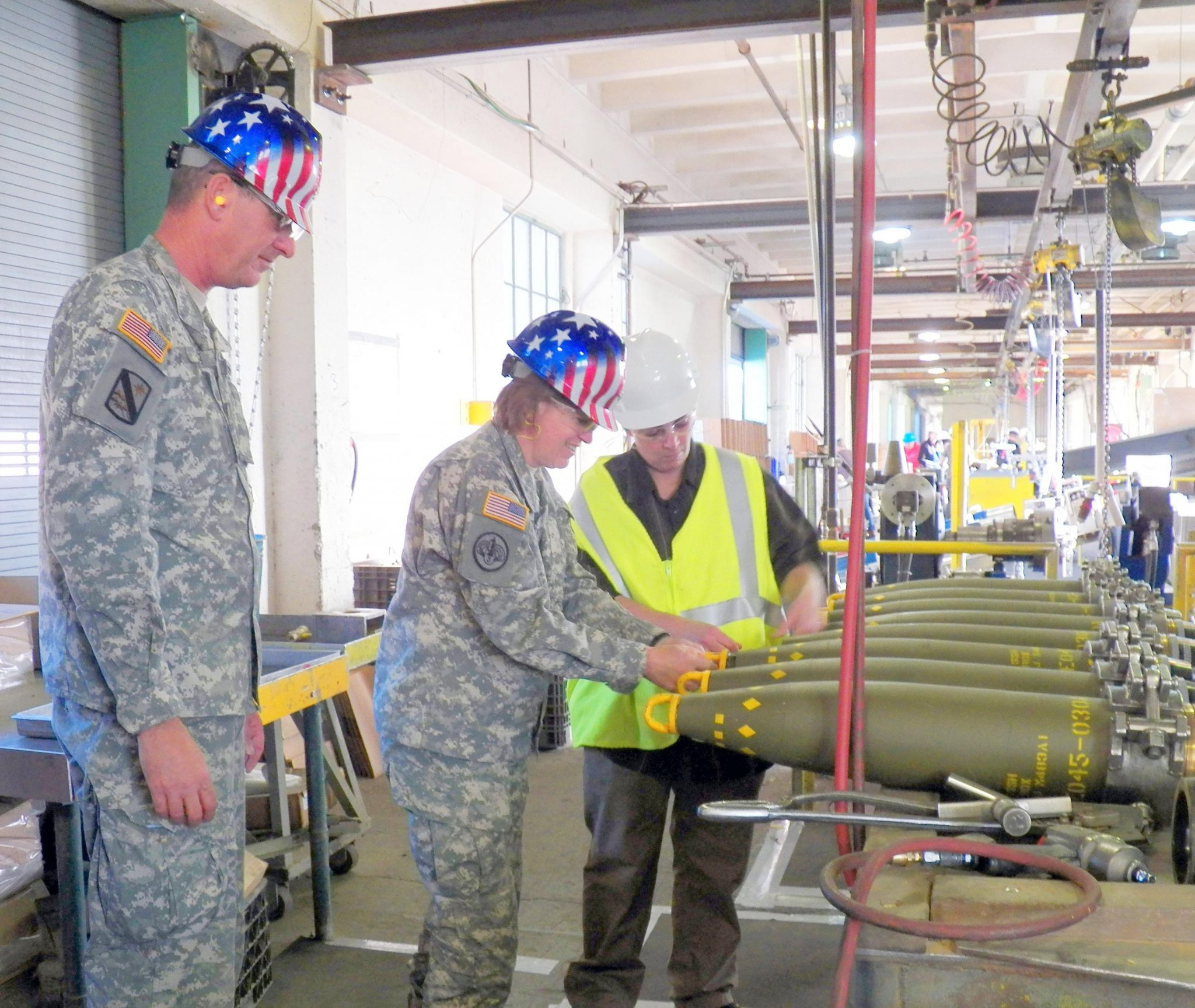 Joint munitions head visits Hawthorne