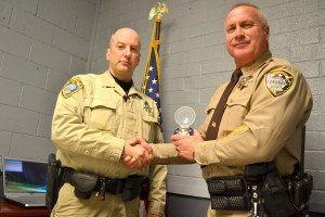 Brian Dillard, a longtime veteran of the Mineral County Sheriff's Department, was advanced to the rank of lieutenant.