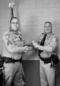An asset to the Mineral County Sheriff's Office, Mickey Boyles III, has served on the force since 2003 starting off as a jailor in the small county facility.