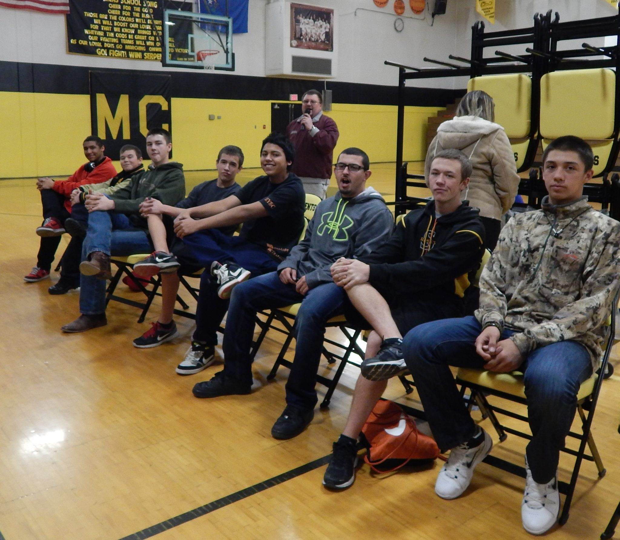 Local Booster Club supports athletes by giving back