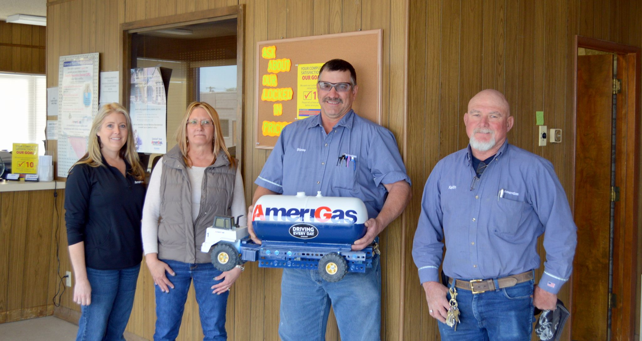 Amerigas, serving the county for over 25 years
