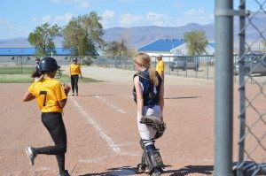 """We're getting there,"" said Mineral County girls softball coach Courtney Quintero after the Lady Serpents dropped both games of a double-header with"