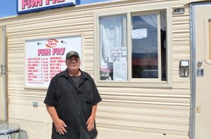 Bob Popken is back in town with a new restaurant. After a short trial run in Arizona to work out the kinks, the new Bob's Fish Fry is up and running, doing