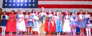 With the bright lights of the Mineral County USO Center shining brightly on the contestants of the Miss Armed Forces Day, the ladies were all smiles as they