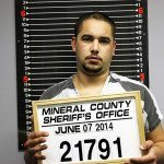 On June 7, at about 8 p.m. Mineral County Sheriff's Deputy Gabe Andrada stopped a vehicle with California plates for speeding