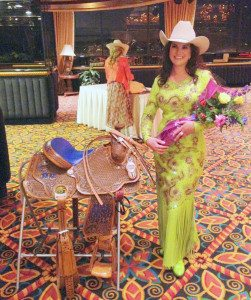 Gabriella Madraso, a graduate of Mineral County High School Class of 2010, was named Miss Reno Rodeo at a coronation at the the Peppermill