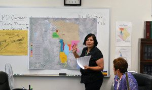 The Walker River Paiute tribe appeared before the Mineral County commissioners on June 19 to assert their land interests in the county