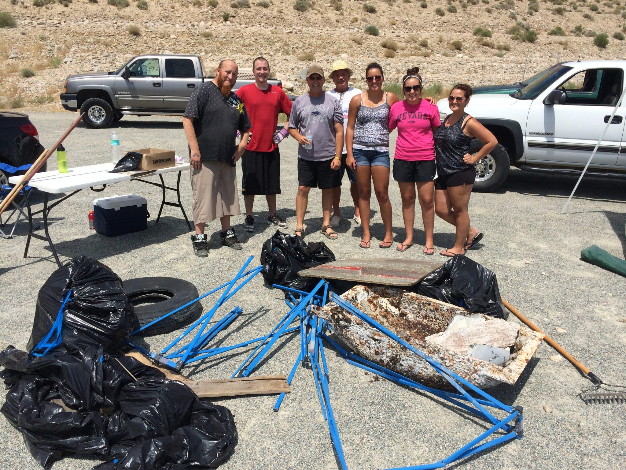 Walker Lake group strives to rid beaches of trash
