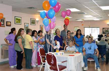 Longtime Hawthorne resident celebrates 102 birthday