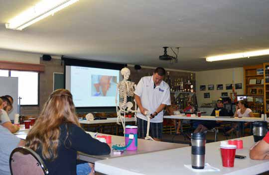 MC Fire Department Hosts Athletic Training Class