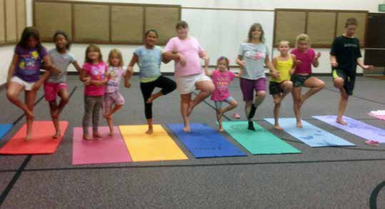 Free Kids Yoga Classes Offered
