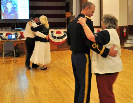 USO dance held Saturday night