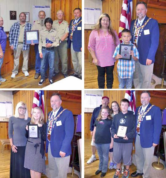 Elks honor local youth at awards ceremony