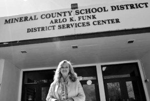 Sheri Samson will fill the vacated position of Beatrice McMinn-Conway on the Mineral County School Board. Heidi Bunch photo.