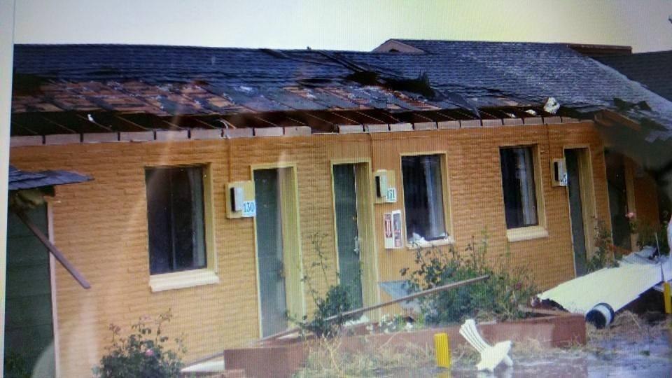 Tornado touches down in Hawthorne