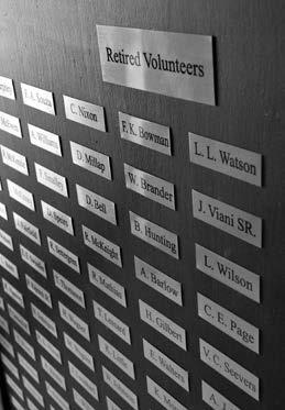 Hawthorne Fire Department updates retiree board, seeks additional names