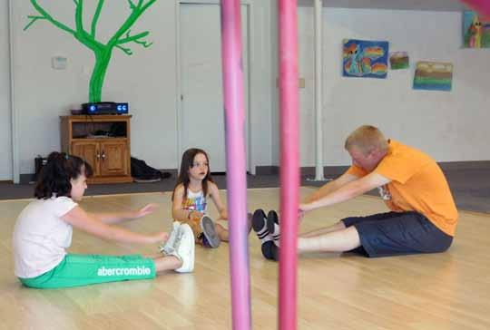 Youth dance classes begin