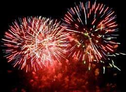 Fireworks event set for next weekend