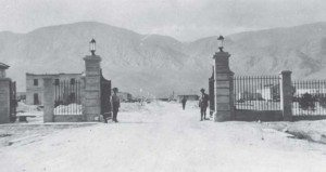 File photo Guards stand at the Main Gate entrance of the now Hawthorne Army Depot in this undated photo.