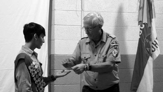 Troop 75 Boy Scouts hold awards ceremony
