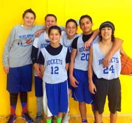 8th grade championship Rockets.