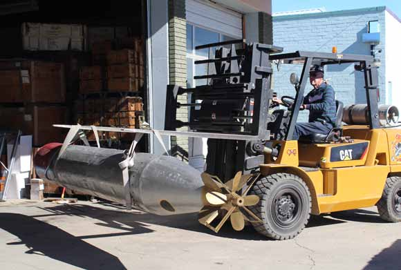 Ordnance Museum acquires special replica torpedoes