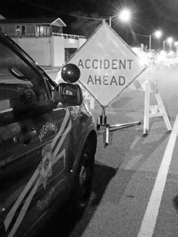 Accident causes damage on Main Street, injures bystander