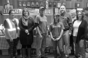 Courtesy photo The Hawthorne Elks Lodge was assisted by many volunteers and contributors that helped to ensure that no one goes hungry over the holiday season during their annual community food drive.