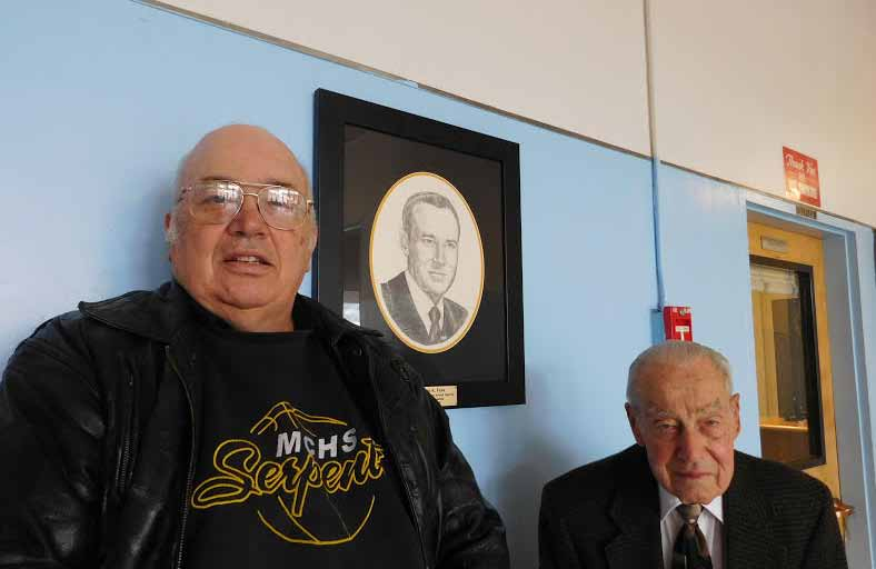Former MCSD head honored with portrait drawn by son