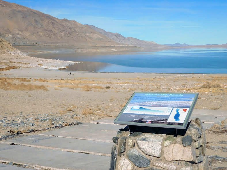 Popular Walker Lake beach gets new name