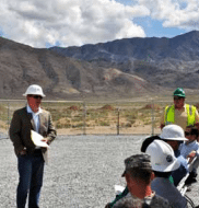 Official groundbreaking ceremony held for Luning Solar Energy Center