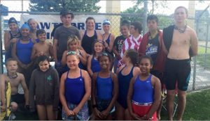 Courtesy photo- The Hawthorne Stingrays swim team competed at its first meet of the season in Yerington on Saturday.