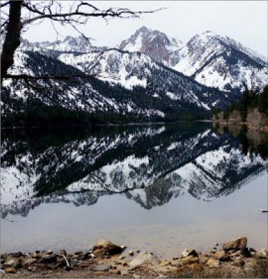 Tanya Bunch -  Reflections at Twin Lakes