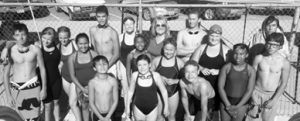 Courtesy photo -  The Hawthorne Stingray swim team will host swimmers from around Nevada at the Lion's Park pool Saturday morning.